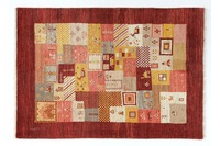 Oriental Collection Gabbeh-Teppich Loribaft 105 cm x 155 cm mehrfarbig