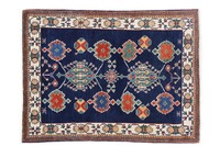 Oriental Collection Gabbeh-Teppich Loribaft 111 cm x 151 cm