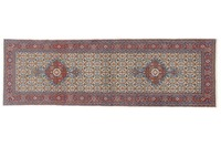 Oriental Collection Mud 76 cm x 248 cm