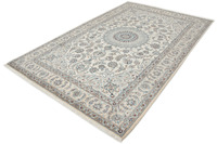 Oriental Collection Nain-Teppich Medallion hell 193 x 303 cm