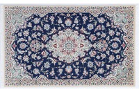 Oriental Collection Nain Teppich Sherkat 90 x 142 cm (Iran)