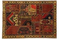 Oriental Collection Patchwork Persia 144 x 205 cm mehrfarbig