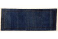 Oriental Collection Gabbeh-Teppich Rissbaft, 82 x 210 cm blau