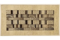 Oriental Collection Gabbeh-Teppich Rissbaft 86 x 164 cm