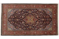 Oriental Collection Sarough Teppich, Perser Teppich, 136 x 237 cm
