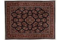 Oriental Collection Teppich, Sarough, Perser-Teppich, handgeknüpft, reine Schurwolle, florale Ornamentik, 211 x 276 cm