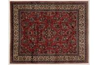 Oriental Collection Teppich, Sarough, Perser-Teppich, handgeknüpft, reine Schurwolle, florale Ornamentik, 213 x 264 cm