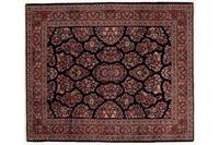Oriental Collection Teppich, Sarough, Perser-Teppich, handgeknüpft, reine Schurwolle, florale Ornamentik, 218 x 260 cm