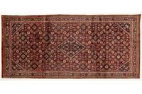 Oriental Collection Teppich, Sarough, Perser-Teppich, handgeknüpft, reine Schurwolle, florale Ornamentik, 152 x 333 cm