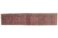 Oriental Collection Sarough Orient Teppich, handgefertigt, 85 x 400 cm