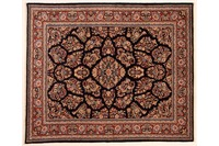 Oriental Collection Teppich, Sarough, Perser-Teppich, handgeknüpft, reine Schurwolle, florale Ornamentik, 215 x 258 cm