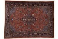 Oriental Collection Teppich, Sarough, Perser-Teppich, handgeknüpft, reine Schurwolle, florale Ornamentik, 150 x 205 cm