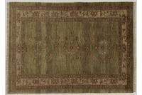 Oriental Collection Teppich, Sarough, Perser-Teppich, handgeknüpft, reine Schurwolle, florale Ornamentik, 141 x 192 cm