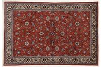 Oriental Collection Teppich, Sarough, Perser-Teppich, handgeknüpft, reine Schurwolle, florale Ornamentik, 167 x 241 cm
