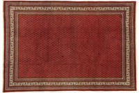 Oriental Collection Teppich, Sarough Mir, Perser, handgeknüpft, reine Schurwolle, 214 x 315 cm
