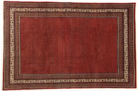 Oriental Collection Teppich, Sarough Mir, Perser, handgeknüpft, reine Schurwolle, 207 x 314 cm