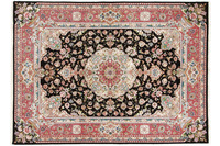 Oriental Collection Tabriz-Teppich 60raj auf Seide 150 x 203 cm