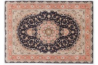 Oriental Collection Tabriz-Teppich 50radj 204 cm x 300 cm