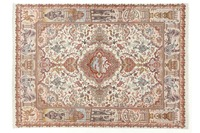 Oriental Collection Tabriz 60radj auf Seide 152 cm x 203 cm