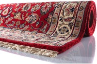 Oriental Collection Isfahan Teppich Varanasi rot