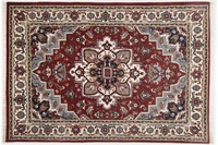 Oriental Collection Heriz Teppich Imperial red /  cream