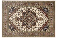 Oriental Collection Teppich Royal Heriz cream /  brown