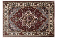 Oriental Collection Heriz Teppich Royal red /  cream