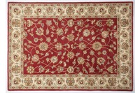 Oriental Collection Ziegler Teppich, Royal Ziegler, 503, rot /  beige