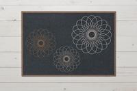 Raffi Fußmatte Raffi Ray, graphite 50x70 cm