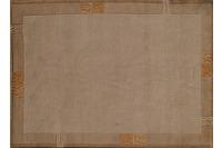 Nepal Teppich, Rama, 322, beige, reine Schurwolle, handgeknüpft, 10 mm Florhöhe, reine Schurwolle, h