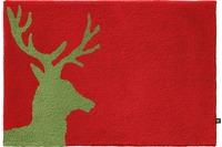 RHOMTUFT Badteppich LORD cardinal/ lind