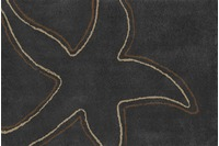 RHOMTUFT Badteppich STARFISH zink/ cappuccino/ walnuss