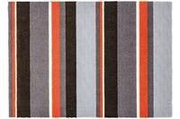 Schöner Wohnen Fussmatte Brooklyn Streifen grau-orange