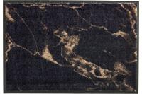Schöner Wohnen Fußmatte Miami Design 001, Farbe 044 Marmor anthrazit-taupe