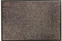 Schöner Wohnen Fußmatte Miami Design 002, Farbe 044 Punkte anthrazit-taupe