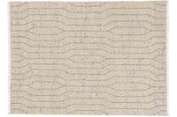 Schöner Wohnen Handwebteppich Sense Design 181, Farbe 004 silber