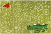 Sigikid Kinderteppich Crocodile SK-22425-040 hellgrün