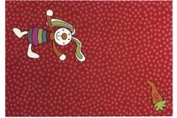 Sigikid Teppich, Rainbow Rabbit, SK-0523-02 rot