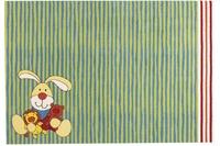 Sigikid Kinder-Teppich, Semmel Bunny SK-0527-02 grün