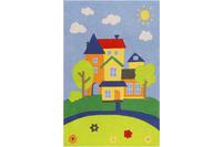 smart kids Kinderteppich Villa Villakulla SM-4297-02 multicolor