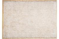 THEKO Hochflor-Teppich Girly uni white