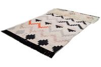 THEKO Handwebteppich Beni Ourain Nomadi -Design multicolor dunkel