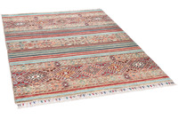 THEKO Orientteppich Kandashah 2745 petrol multi 124 x 181 cm
