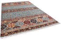 THEKO Orientteppich Kandashah 2983 blue multi 214 x 298 cm