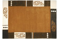 THEKO Teppich Ambadi, 3082, brown