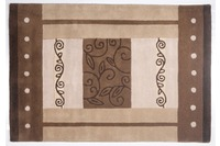 THEKO Teppich Hawai, FE-3205, beige multi