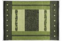 THEKO Teppich Hawai, FE-3205, grün