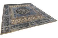 THEKO Orientteppich Hindustan Super Oxid 4245 blue 250 x 300 cm