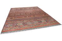 THEKO Orientteppich Kandashah 0007 red/ blue 256 x 306 cm