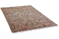 THEKO Orientteppich Kandashah 0075 silver multi 126 x 179 cm
